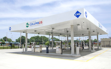 City of Columbus Compressed Natural Gas (CNG) Fueling Station Morse Road Facility
