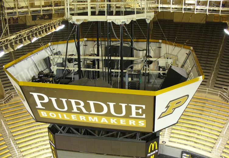 Purdue University Mackey Arena Expansion Dlz