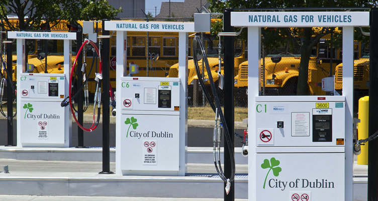 City Of Dublin Ohio Compressed Natural Gas Cng Fueling