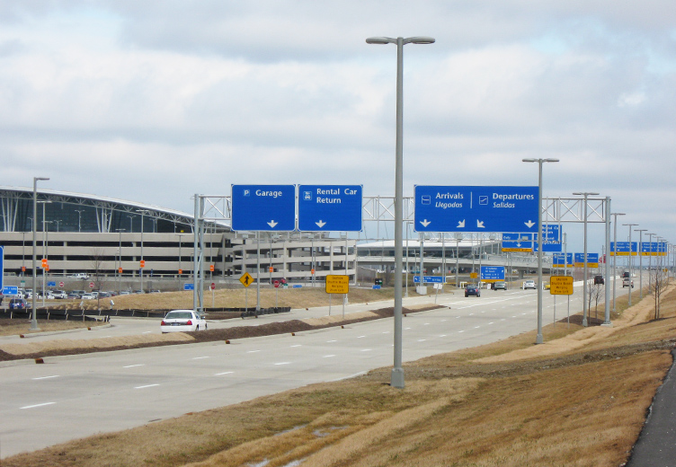 Indianapolis International Airport Roadway & Parking Lots