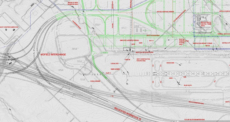Indianapolis Airport Parking Stormwater Infrastructure - DLZ on