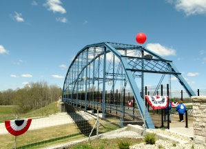 Freedom Bridge, Delphi, Indiana