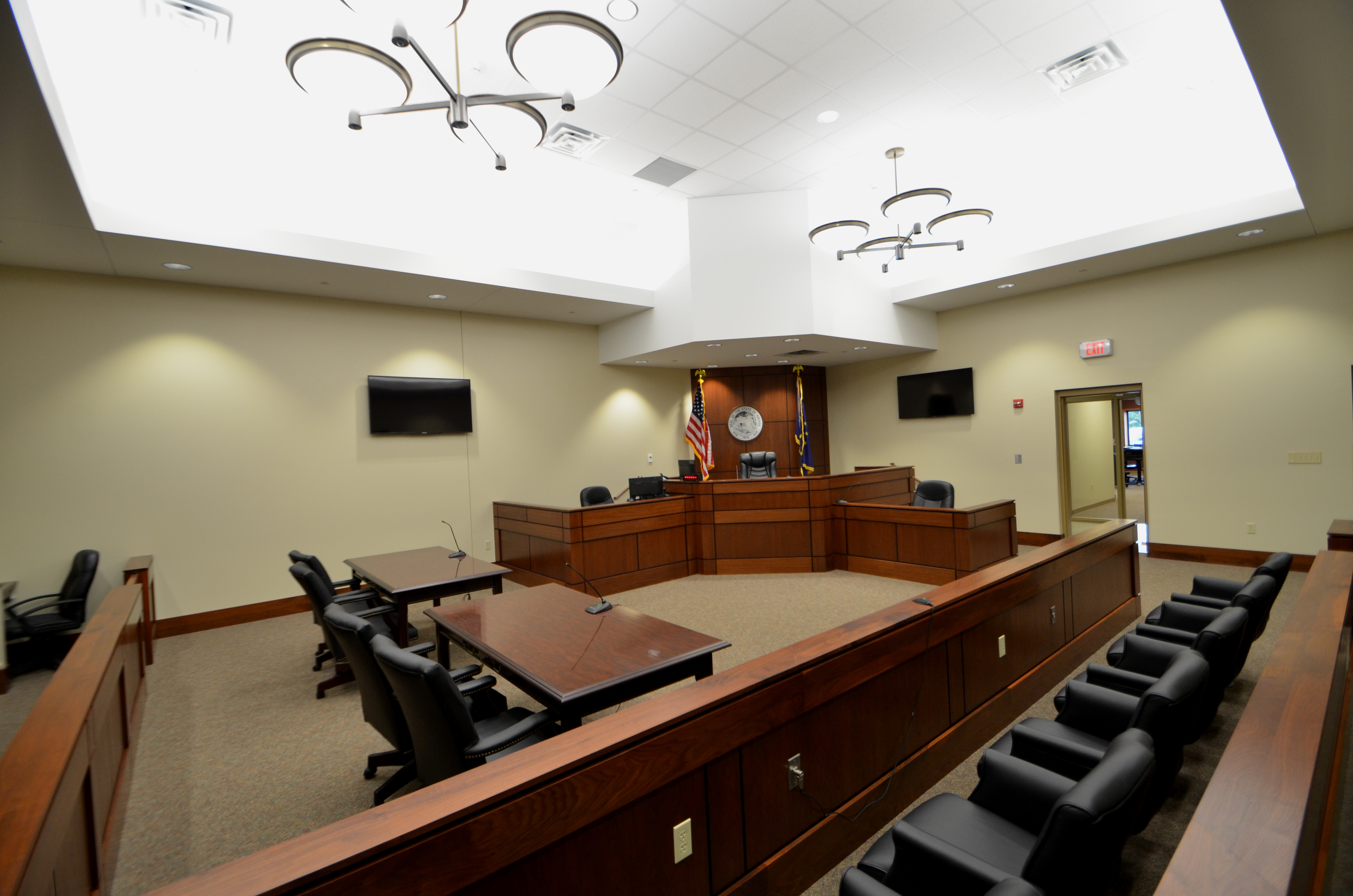 in12019610 Starke County Jail court room 6 - DLZ