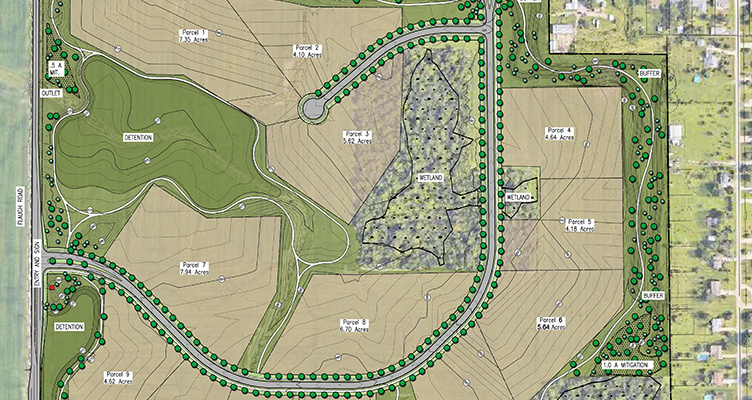 US Highway Corporate Park DLZ - Us highway 30 map