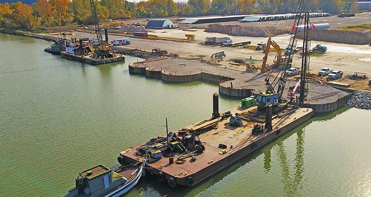 Port of Monroe Marine Terminal, Monroe, Michigan - DLZ