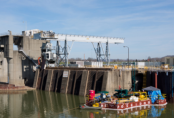 Subsurface Exploration AEP Racine Locks and Dam Project Image