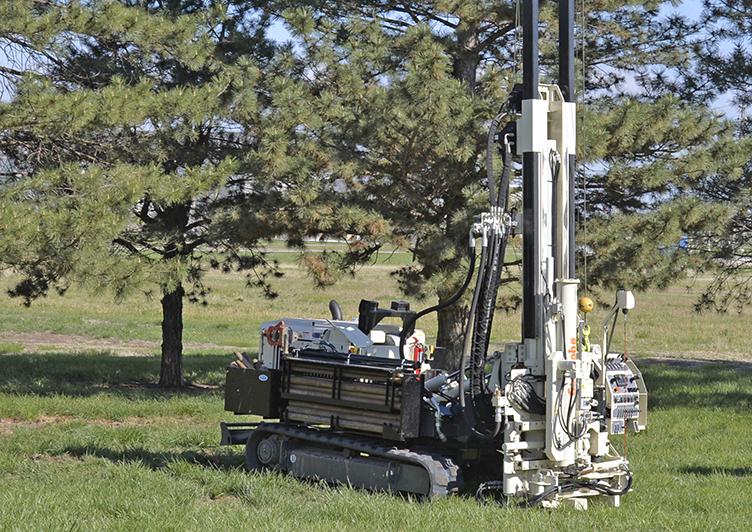 Geoprobe Drill Rig